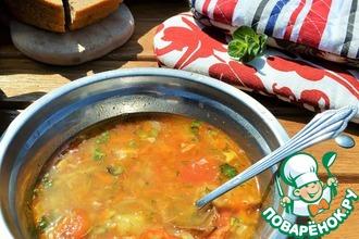 Рецепт: Суп Дачный харчо