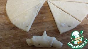 Segment shape the bagel.