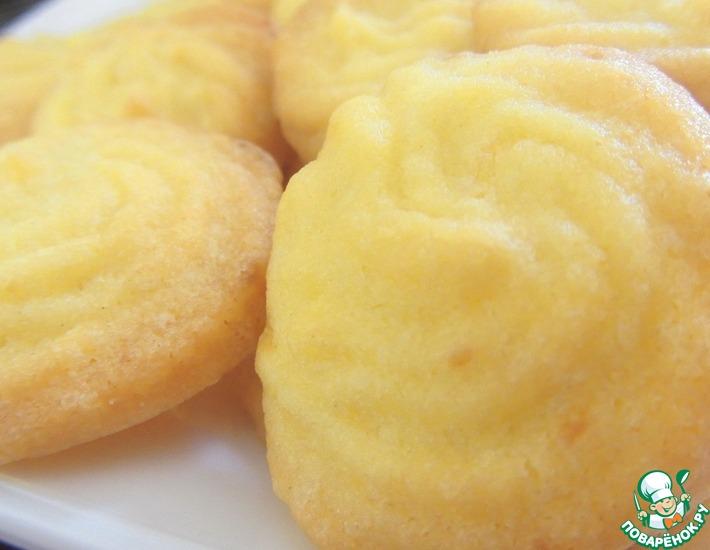 Рецепт: Домашнее песочное печенье