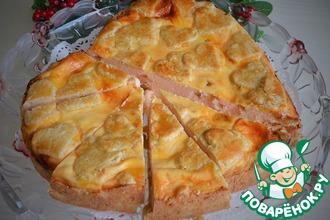 Рецепт: Пирог творожный С любовью