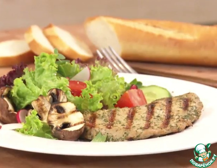 Рецепт: Средиземноморский маринад с соевым соусом