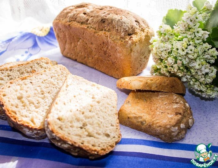 Рецепт: Хлеб с квашеной капустой
