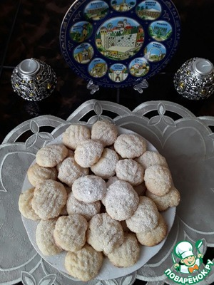 If desired, sprinkle the cookies with powdered sugar!