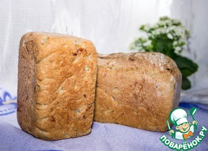 Ready bread remove from the mold, allow to cool and ran to try!  Bon appetit!