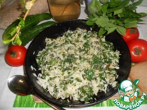 Our quick dish is ready. Bon appetit!
