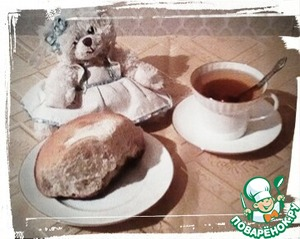 Even the Teddy bear wanted to try!