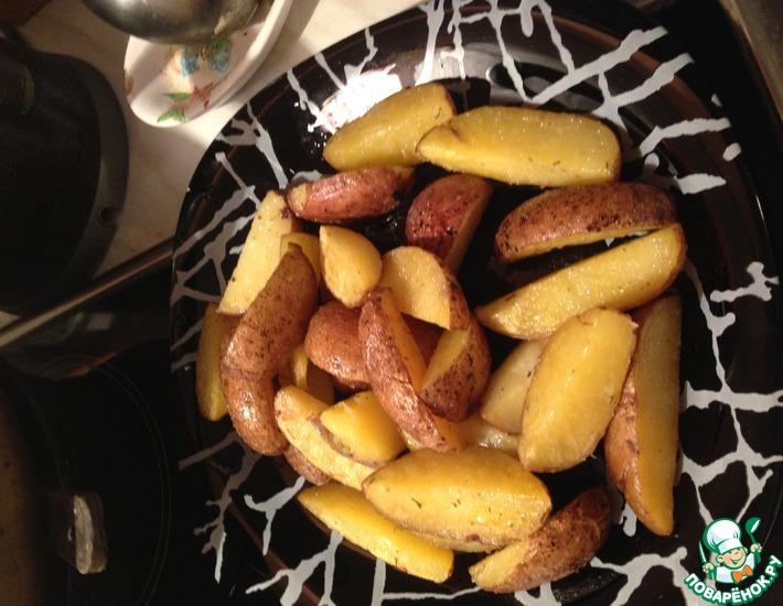 Рецепт: Запеченный картофель Как у Юльки