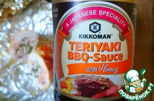 Ready rolls very convenient to eat in the countryside, with hands dipped in BBQ sauce, and you can bring home and enjoy this dish in the comfort of a knife, fork and the same BBQ sauce Kikkoman)))
