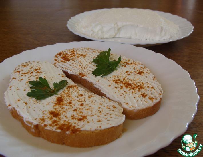Рецепт: Мягкий сыр