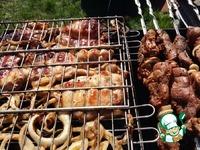 Куриный шашлык Дачный ингредиенты