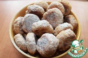 Наши вкусные, полезные печенья без муки готовы! Их можно посыпать пудрой или склеить попарно с помощью мягкого творожного сыра - будет очень вкусно. Ешьте с удовольствием!)