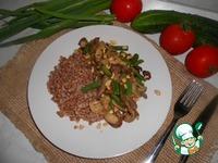 Гречка с говядиной и грибами ингредиенты
