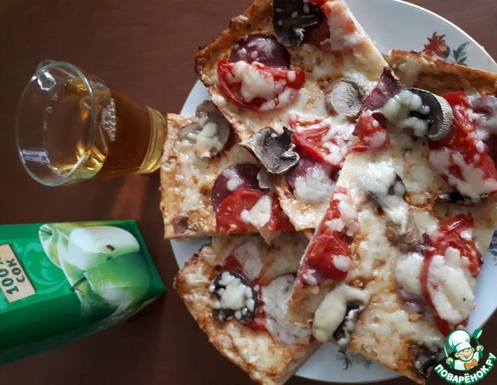Рецепт: Пицца 8 мая