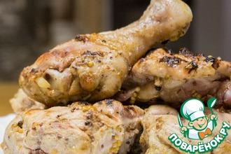 Рецепт: Маринад для шашлыка из курицы