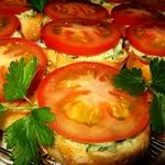 Бутерброды закусочные Нежность