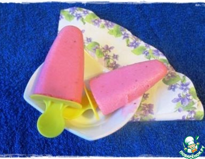 Рецепт: Мороженое Клюковка