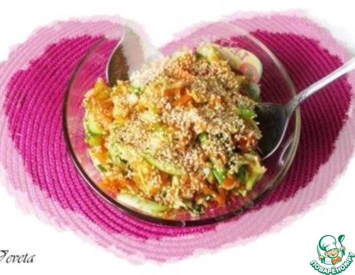 Рецепт: Овощной салат Вьетнамский