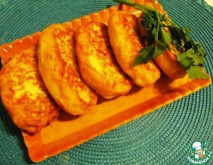 Рецепт: Шанежки грибные