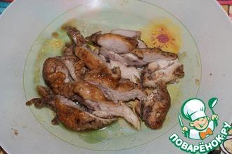 Рецепт: Остро-чесночная курица