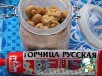 Пикантные шампиньоны в горчичном маринаде ингредиенты