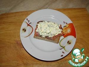 Top egg salad