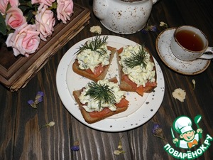 When serving, decorate with a sprig of dill