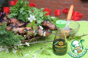 Hints of brine and honey give the light flavors of summer!  Let the coming summer will not be worse!  Happy holiday – the Old New Barbecue!