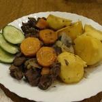 Жаркое из лосятины с овощами