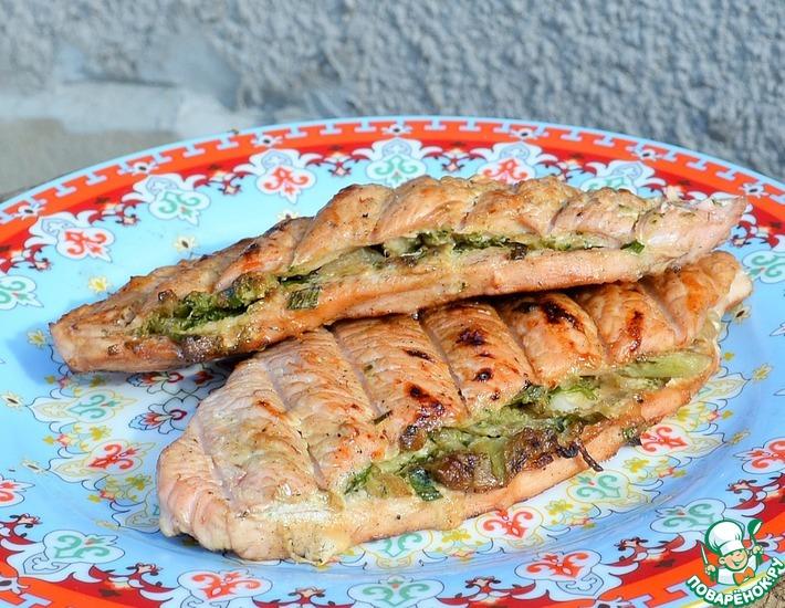 Рецепт: Филе индейки с брокколи