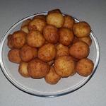 Сырно-чесночно-творожные шарики
