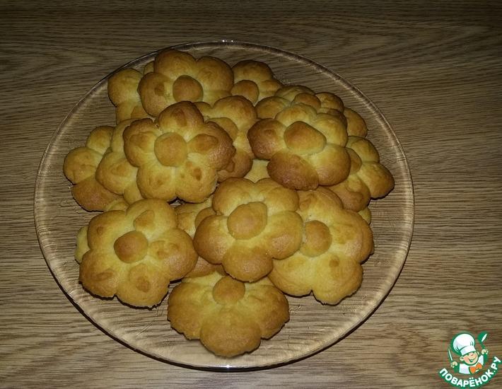 Рецепт: Печенье рассыпчатое неженка