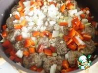 Фрикадельки в овощном соусе с рисом ингредиенты