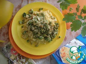 For wheat spread eggs-the talker is the finished dish and you can eat it.