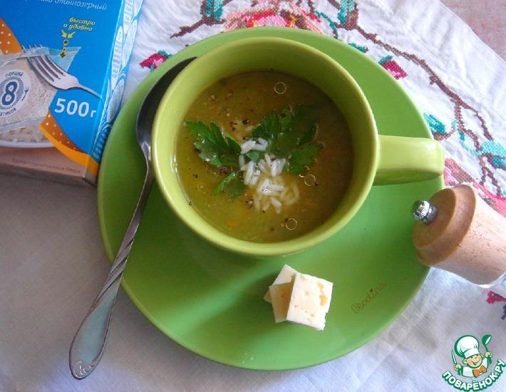 Рецепт: Суп-пюре Дачная полезность