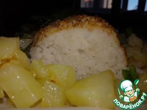 Я подавала с жареной картошечкой, но каждый выбирает гарнир на свой вкус!   Приятного аппетита!