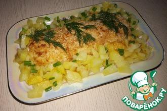 Рецепт: Рыбное полено по-северорусски