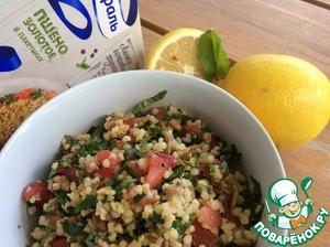 Полезный, свежий салат с ярким вкусом готов. Приятного аппетита!