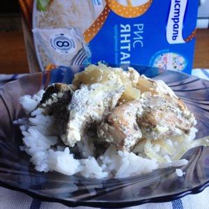 Serve with rice.  Bon appetit!
