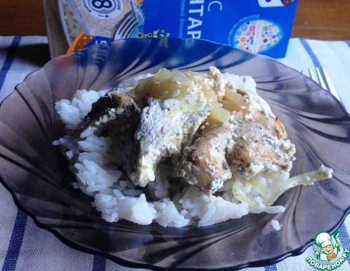 Рецепт: Куриное филе в стиле гетлибже