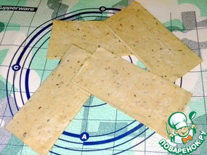 Pastry, 4 sheets laid out on the table and every thin  unrolled.