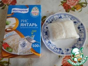 Рис вынимаем из воды.