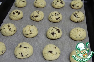 Bake for about 15 minutes (until dry splinter) - cookies should not be browned!