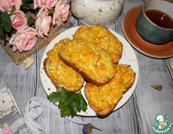 Рецепт: Горячие бутерброды Абсолютное удовольствие