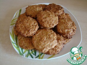 Печенье получается слегка с влажной структурой, но это не значит что оно не пропеклось.