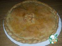 Пирог с мясом и капустой ингредиенты