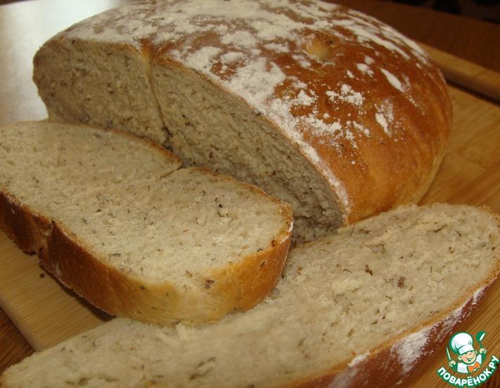 Рецепт: Хлеб с ламинарией