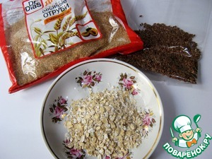 To prepare bran, flax seeds, and cereals.