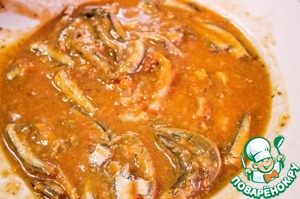 After 20 minutes add in our soup pilchards in tomato sauce, stir and tormented for the soup for another 5 minutes.