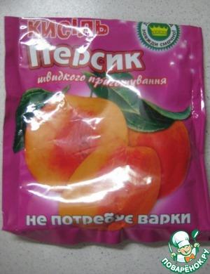 Кисель, который использовала в рецепте)))