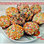 Мини-кексы с мармеладом